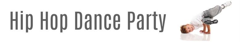 Hip Hop Dance Party Web Header