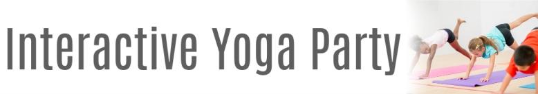 Interactive Yoga Web Banner
