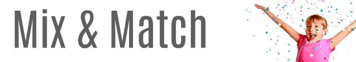 Mix and Match Web Header