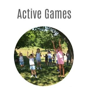 Active Games Web Button