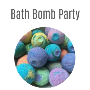 Bath Bomb Web Button