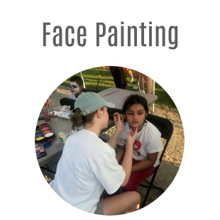 Face Painting Web Button