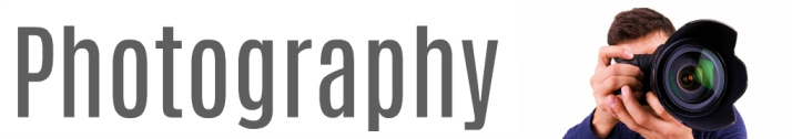 Photography Website Banner